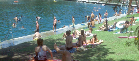 Barton Springs Pool at Zilker Park