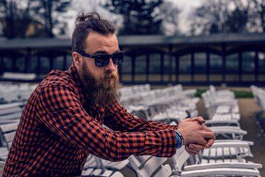 adult-beard-checkered-shirt-69212